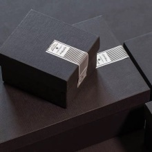 Grey Clothing Gift Packaging Box