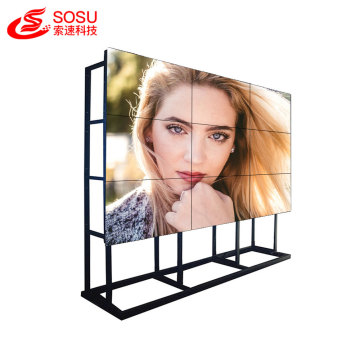 1.7mm moldura ultra estreita lcd lg video wall