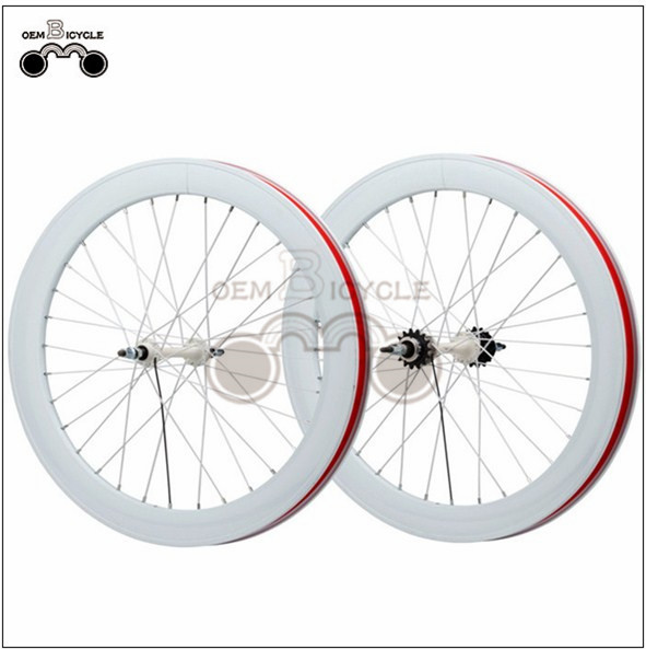 700C Double-walled Aluminum Bike Wheelset2