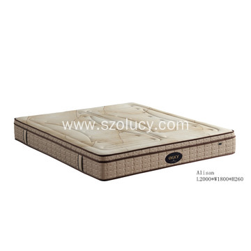 China Top 10 for Pocket Coil Spring Mattress Classical Confirmtable Latex Mattress export to Poland Exporter
