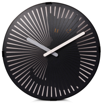 Motion Wall Clock- Cute Kitty with Sound