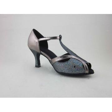 Girls latin shoes with 2.5 inch heel