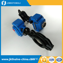 high quality urban construction save space ansi 6 electric butterfly valve