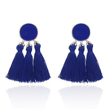 China New Product for Bohemian Tassel Earrings Wholesale womens bohemian tassel earrings export to Russian Federation Wholesale