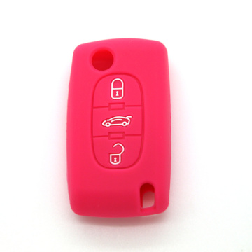 New design silicone car key cover for Citroen