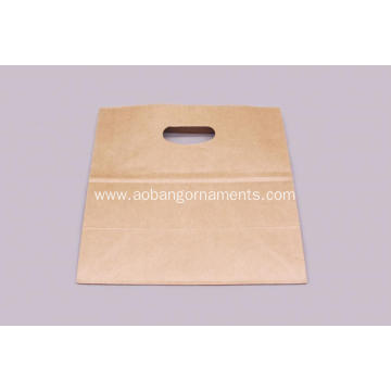 Stand up brown paper bag