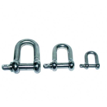 Galvanized Europe Type D Shackle