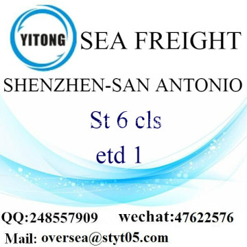 Shenzhen Port LCL Consolidation To San Antonio