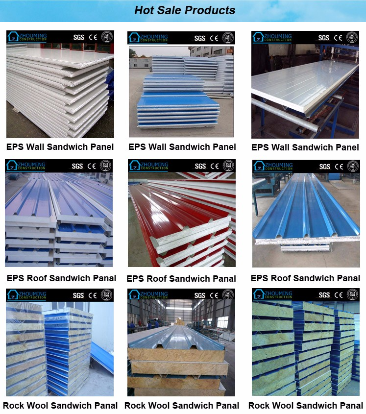 Lowest Price Wall and Roof Sandwich Panel
