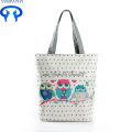 Printed Canvas Tote  Beach Shopping Bag