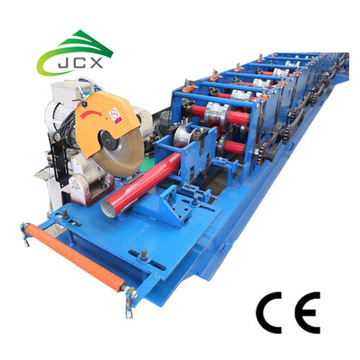 Downpipe cold rolling line