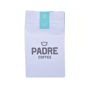 customized printing coffee bag one way valves