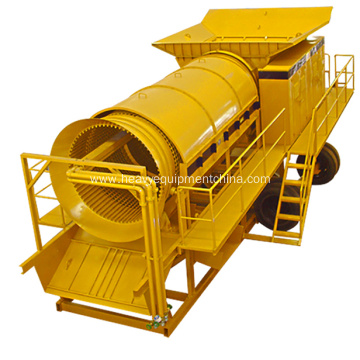 High Recovery Rate Gold Washing Plant For Sale