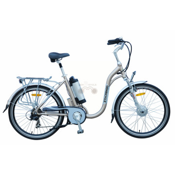 26 Inch Alloy Suspension Electric Cruiser Bike