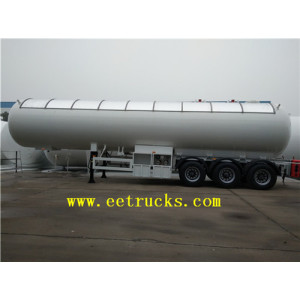 56000 Liters 3 Axle LPG Tanker Semi Trailers