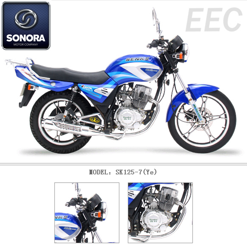 SENKE SK125-7 Ye Engine Spare Parts Complete Body Kit Original Spare Parts