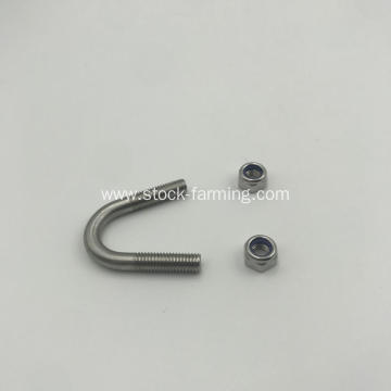 U Bolt Pipe Clamp U Shape Fastener