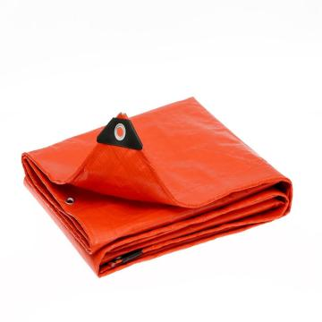 High Quality Orange Tarpaulin size 6'X8'