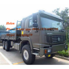 Customized for Tractor Truck Army Quality Styr Axle Powerful Lorry Truck export to New Caledonia Factories