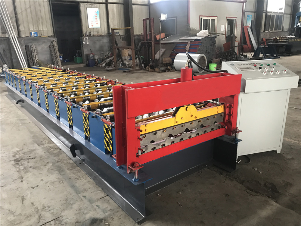 Trapezoidal Roofing Tile Machine