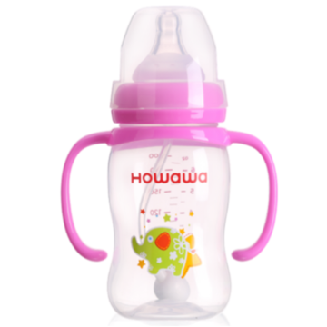 7oz Wide Neck Milk Bottle For Baby Feeding