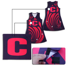 New Arrival for Girls Netball Dresses New design activewear sliming netball uniforms export to Samoa Factories