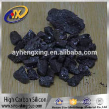 Hot sale to Europe high carbon ferro silicon and ferro silicon FeSi grains