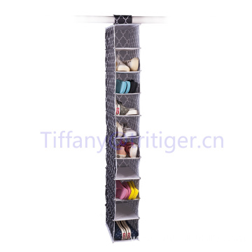 Oxford Shoe organizer 10 tiers Over the Door Hanging Shoe Organizer