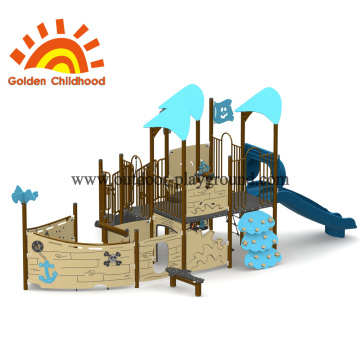 Blue Ship Multiply Game Structure For Kids