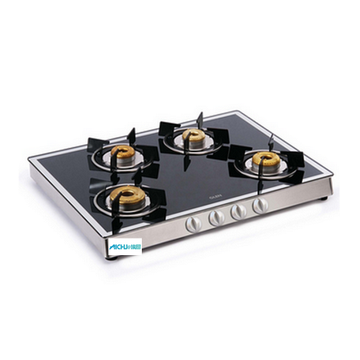 4 Burner Gas Stove Forged Burners Mirror Finish