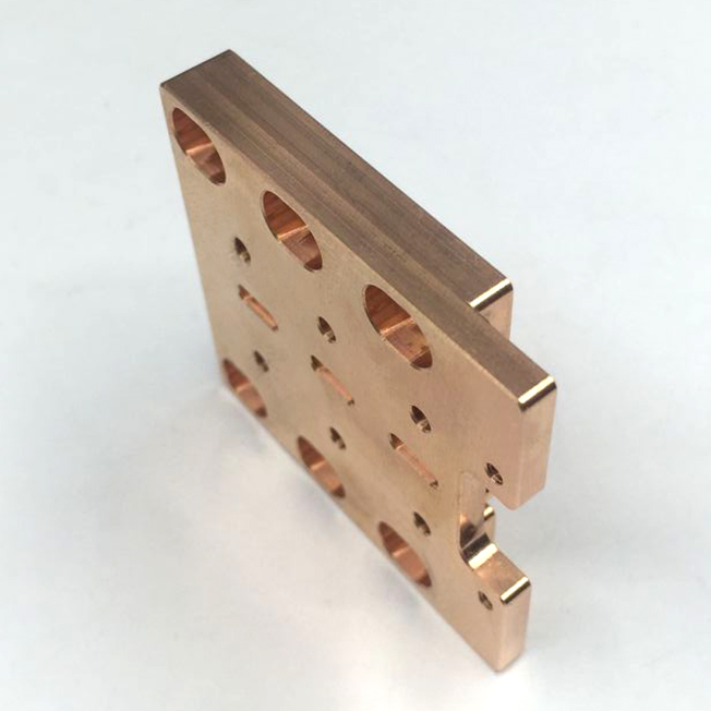 High Speed Machining Copper Fixed Plate