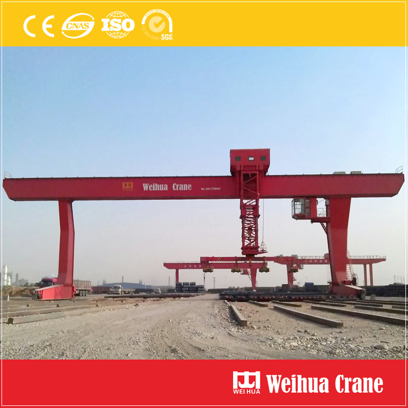 Single Girder Gantry Crane Electromagnet
