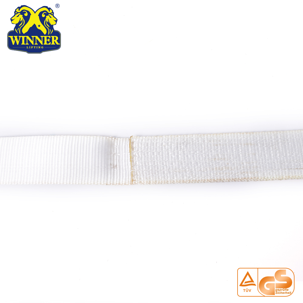 Specification 2.5Ton EN1492 Polyester Round Lifting Webbing Sling