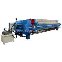 PLC Control Paper Industry Plate Frame Filter Press