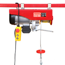 Hot sale for PA Small Electric Hoist Mini Wire Rope Electric Hoist 100KG export to Italy Importers