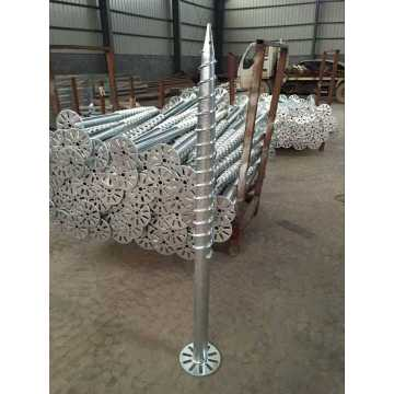helical pile   Ground Screw Pole Anchor