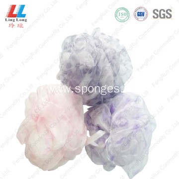 elegant dead skin removal sponge mesh soap holder