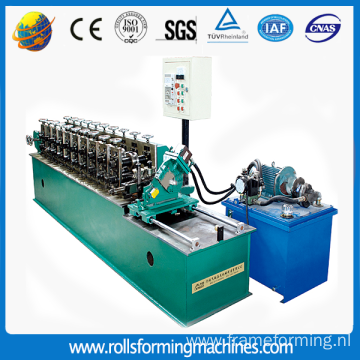 Drywall keel C stud roll forming machine