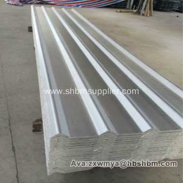 Aluminium Foil Iron Crown Anti-typhoon MgO Roof Sheet
