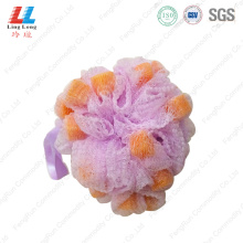 exfoliating luffa Foam Smooth mesh bath Sponge