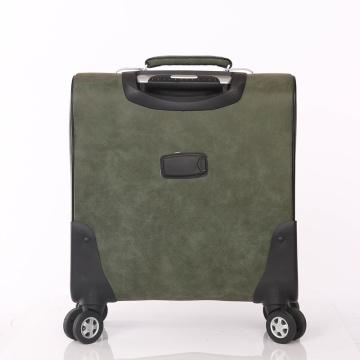 Airplane Boarding Portable Suitcase PU luggage