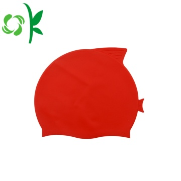 Cheap Silicone Swim Waterproof Simple Cap