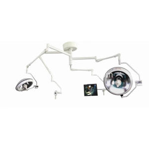 Halogen two head lamp with built in camera