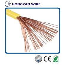 Copper Core Flexible Electrical Wire Coated PVC