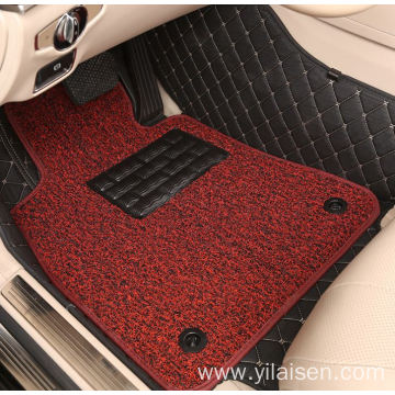 Hot sale coil car mat Full Set Type