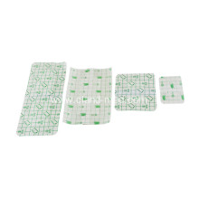 Waterproof Disposable Sterile Medical Adhesive PU Wound Dressing