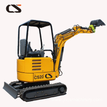 2.2ton mini crawler excavator with hydraulic hammer