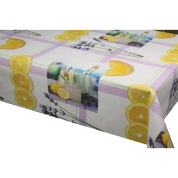 Elegant Tablecloth with Non woven backing with Logo