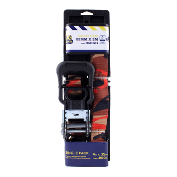 Factory Price Cargo Lashing Belt with Soft Rubber handle
