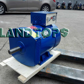 Leading for China ST Series Single Phase Alternator,Single Phase AC Generator,Single Phase Ac Dynamo Supplier 220V ST Single Phase 5kw Alternator Price export to India Factory